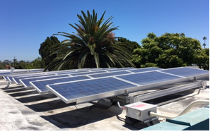 Measure ES at work - solar panels have been installed on 9 campuses